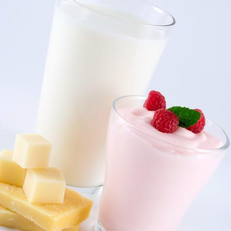 milk yoghurt and cheese